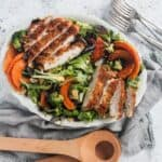 winter chicken salad
