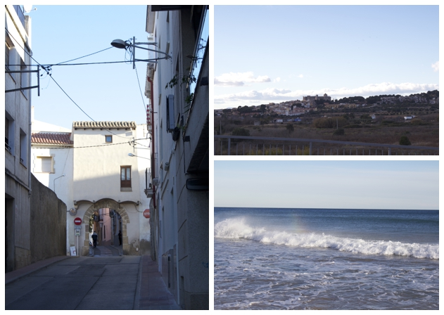 Torredembarra streets, outskirts