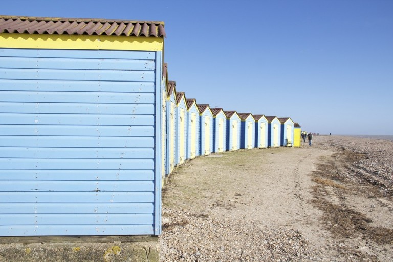 Rows of Sheds