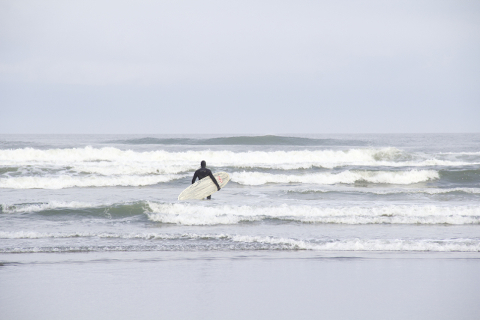Going to catch a wave
